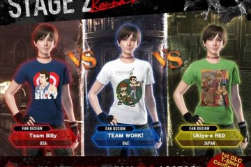 Stage 2 of Capcom's Resident Evil 0 HD T-Shirt Design Competition Begins