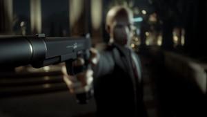 Agent 47 with gun