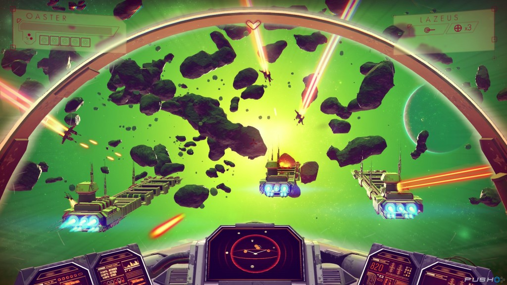 No Man's Sky asteroids