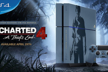 Uncharted 4 Limited Edition PS4 Console Available in April