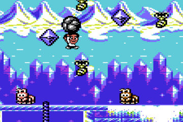 Sam's Journey – upcoming C64 homebrew platformer