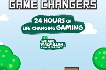 Take Part in Macmillan's 24hr 'Game Changers' Marathon!