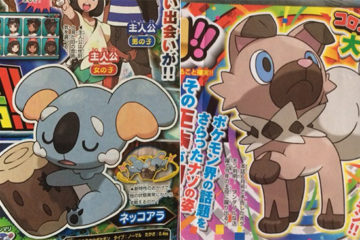 CoroCoro Magazine Reveals Two New Pokemon