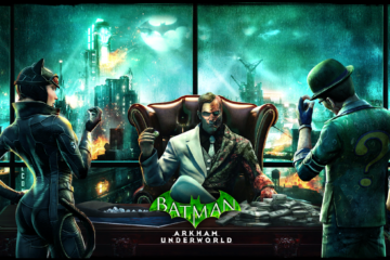 Face off Against Batman in Batman: Arkham Underworld, out now on iOS