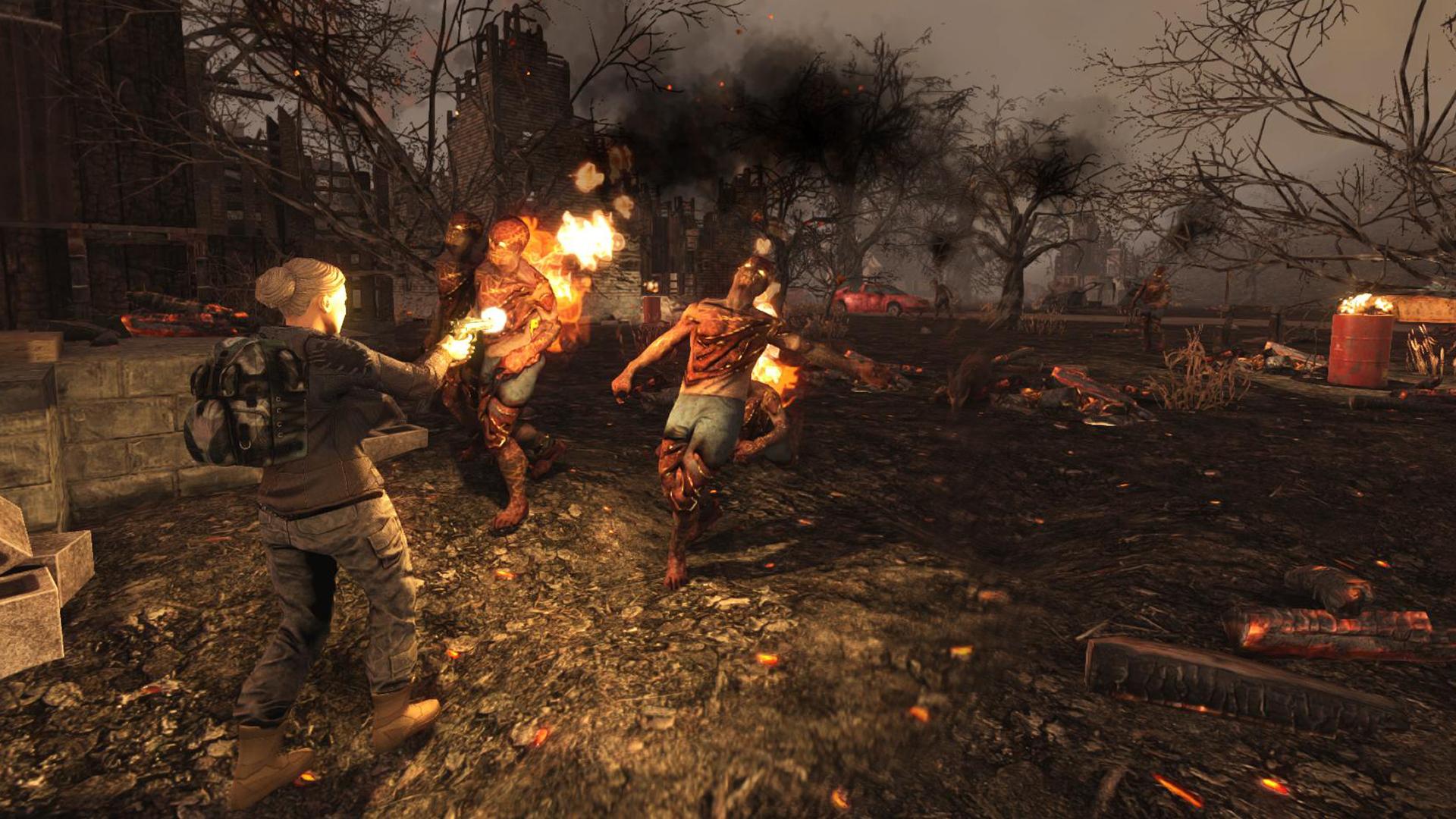 Burning-Zombies