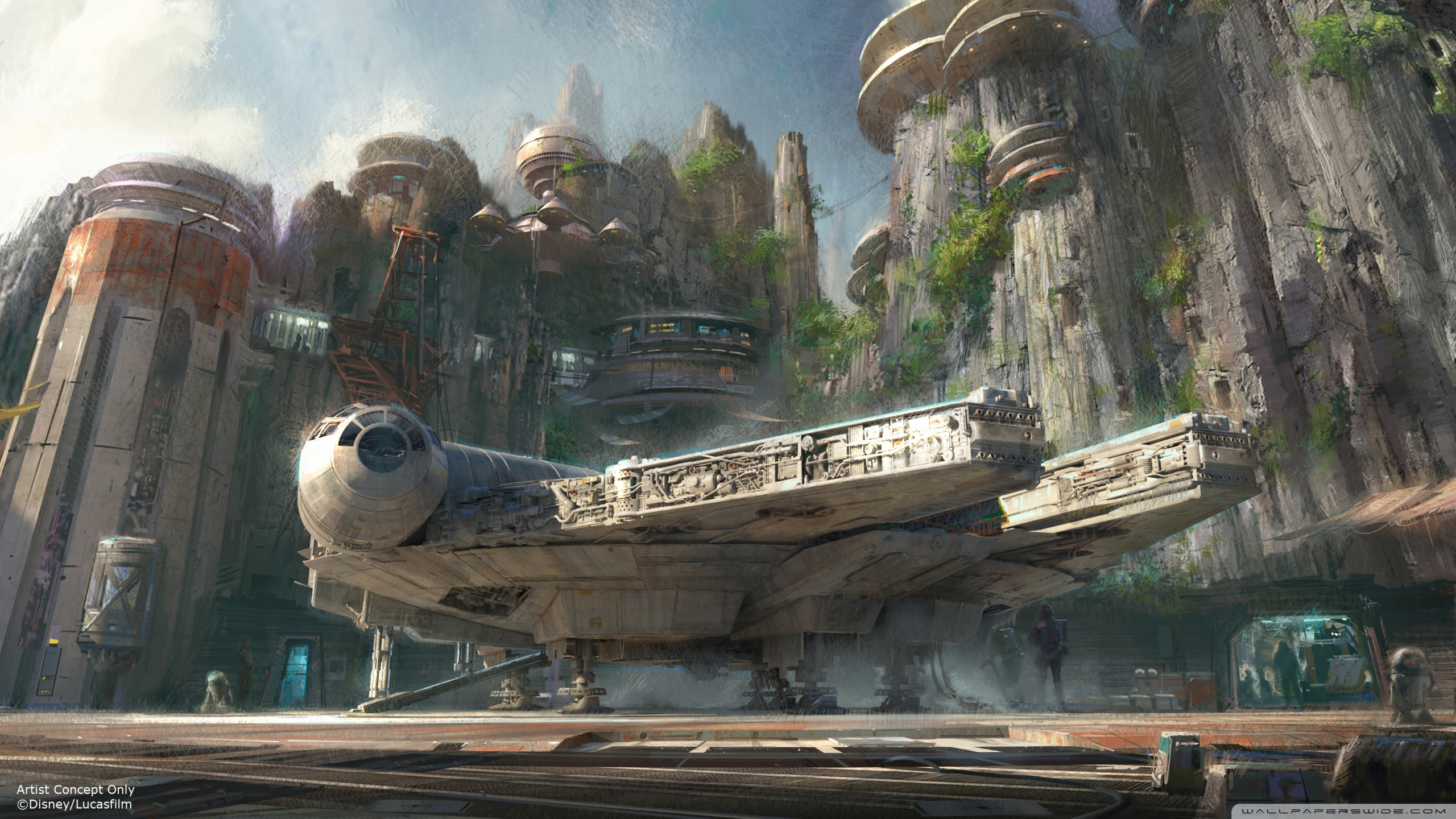 millennium_falcon_docked-wallpaper-2560x1440