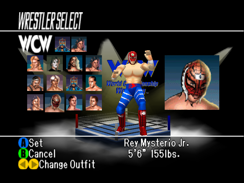 Wcw Vs Nwo World Tour Roster