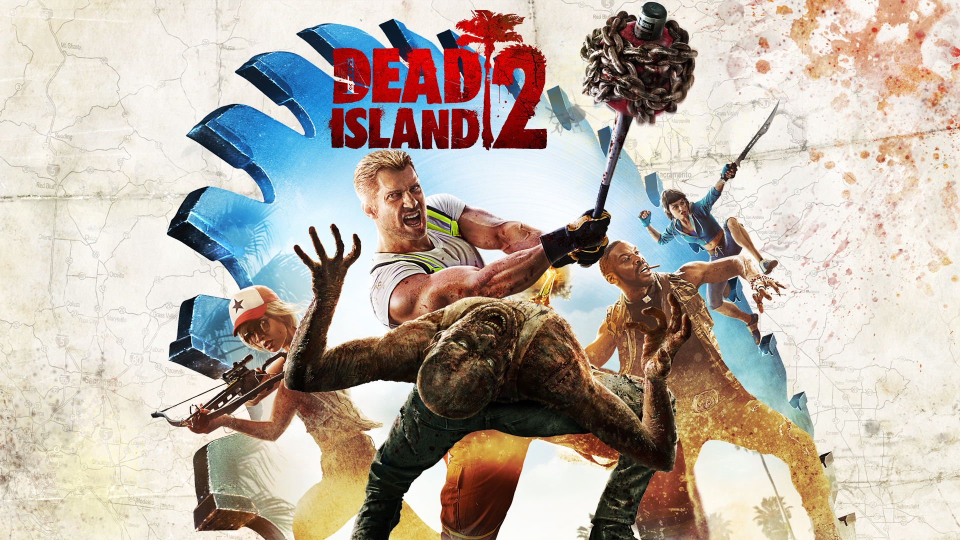 Dead Island 2- Best Xbox One Zombie Games