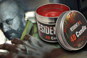 Capcom and Numskull Announce the Official Resident Evil VII 4D Candle