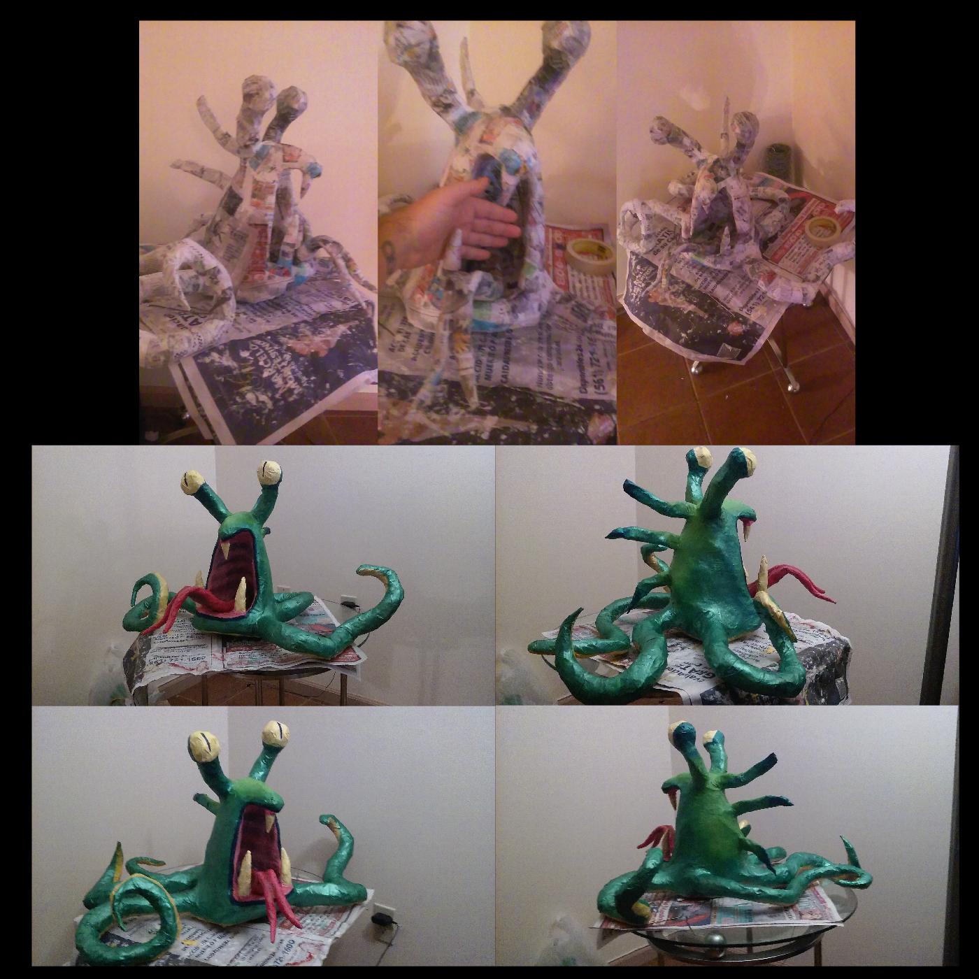 astrocreep sculpture